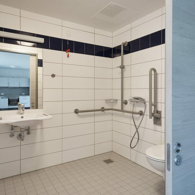 Betreutes Wohnen Badezimmer